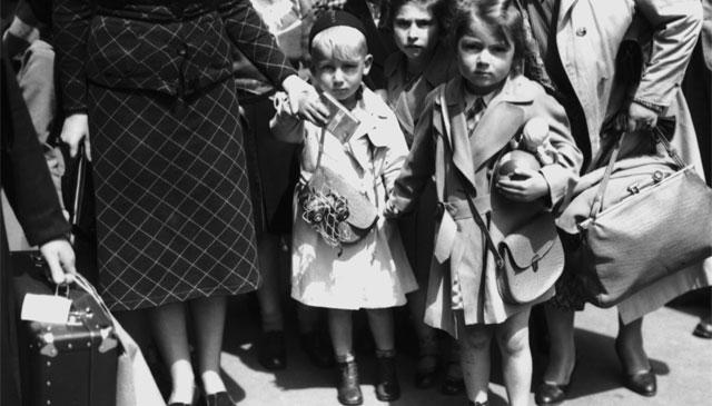 Jüdische Flüchtlinge 1938